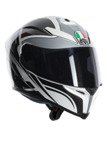 Kask AGV K-5 / ROADRACER WHITE/GUNMETAL/BLACK